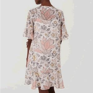 LOFT Chiffon Flutter Dress